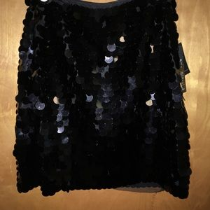 F21 After dark Collection Sequins Skirt